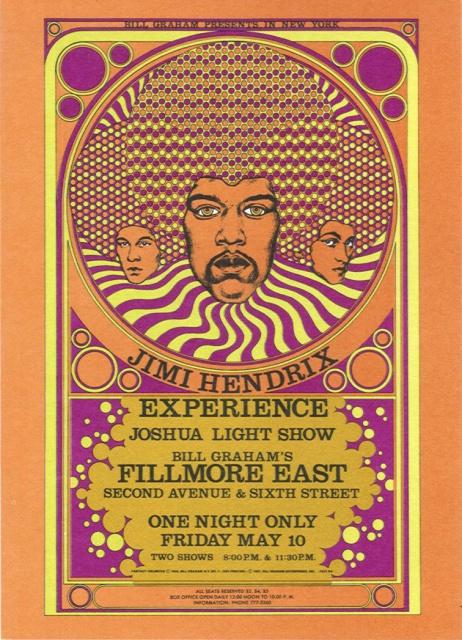 New-York (Fillmore East) : 10 mai 1968 [Premier concert] 803075JimiHendrixExperienceFillmoreEast