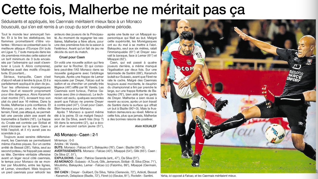 [19e journée de L1] AS Monaco 2-1 SM Caen  - Page 2 807671Monaco