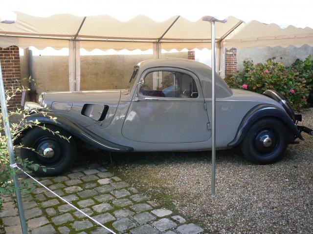 80 ans de bons et loyaux service la TRACTION avant Citroën 808466P1190796