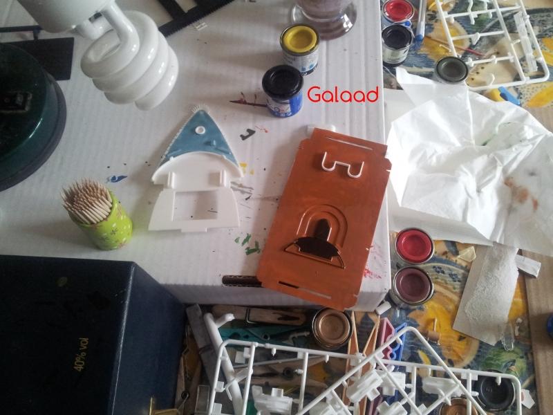 AIDA par Galaad au 1/400 marque revell 80912620120119130229