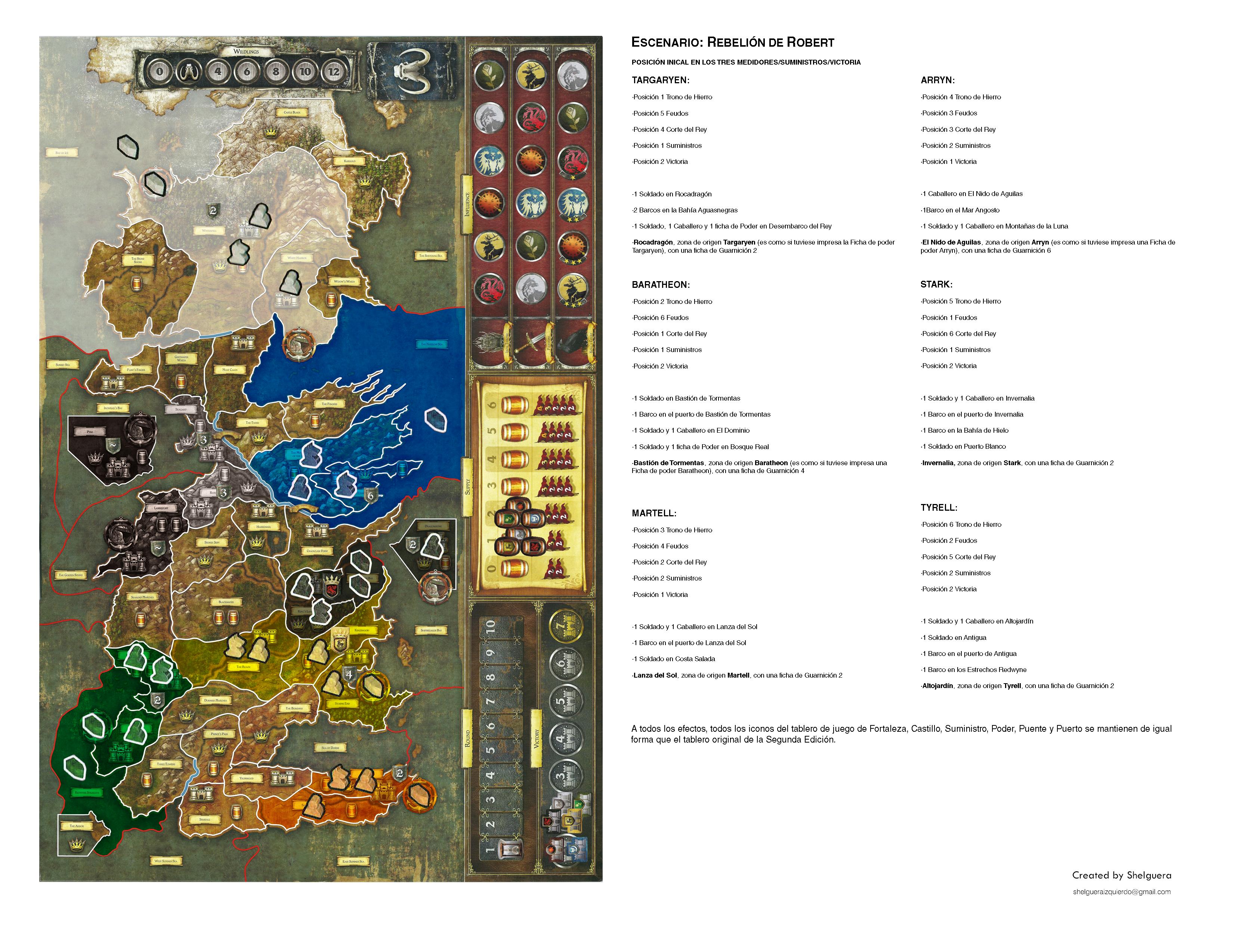 Rebelión de Robert, la version espagnole de Schelguera (partie à six joueurs) 8102366PLAYERSIC