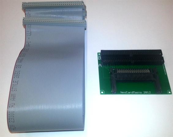[AES / MVS] Review : NeoSaveMasta et NeoCardMasta 811050NCMkit