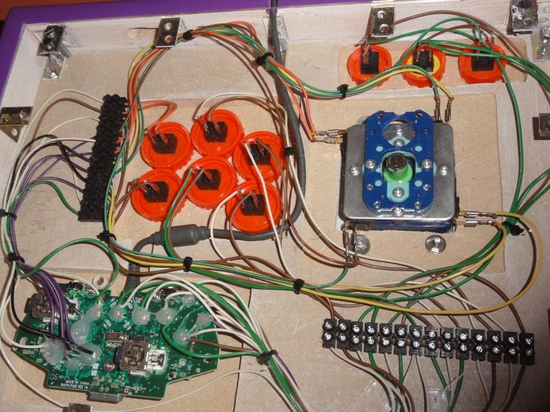 [WIP] Fabrication stick arcade compatible Neo Geo, XBOX360 et PC  811159DSC08199