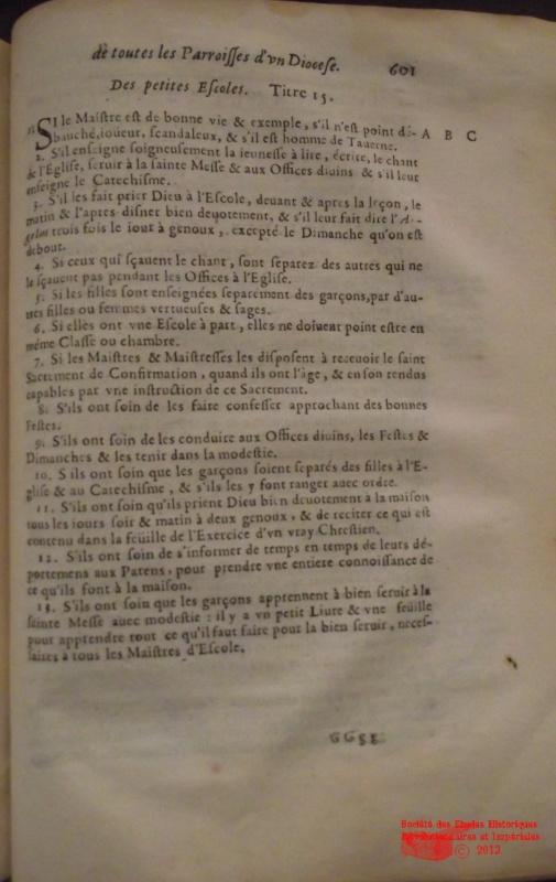 l'instruction au XVIIIe siècle 812142DSCF8803