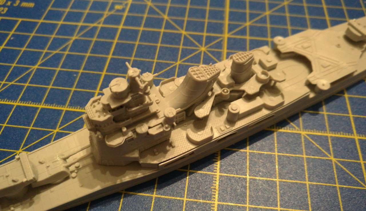Croiseur TAKAO 1944 1/700 Pit-Road 812405Takao16