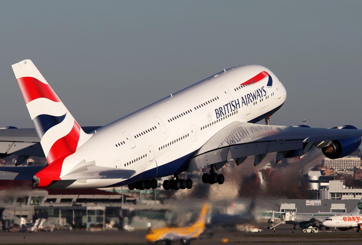 A380-800 British Airways Revell.1/144° 812896A380BATakeoff