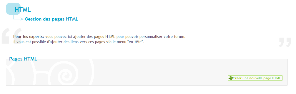 Utiliser les pages HTML et les iframes sur votre forum 813949Sanstitre4