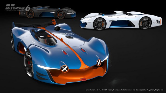 Alpine Vision Gran Turismo : bientôt sur l'écran de votre salon 8141906528916