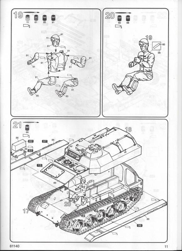 AMX 13 VCI 1/35ème Réf 81140 815123VCI011