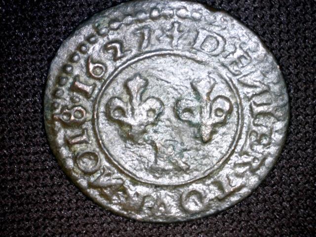 Denier Tournois LOUIS XIII 1627 R 815485Image46