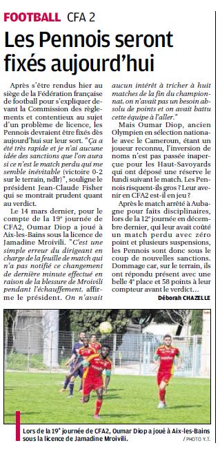 LA PENNE SUR HUVEAUNE //  CFA2 GROUPE E  - Page 21 816611375