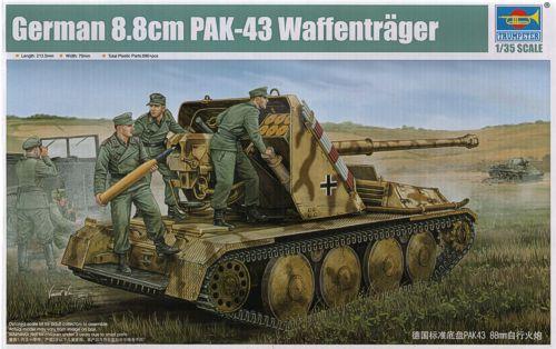 peinture - Waffenträger 88cm Pak 43 (Trump 1/35) - Page 3 817216Waffentrgerbox