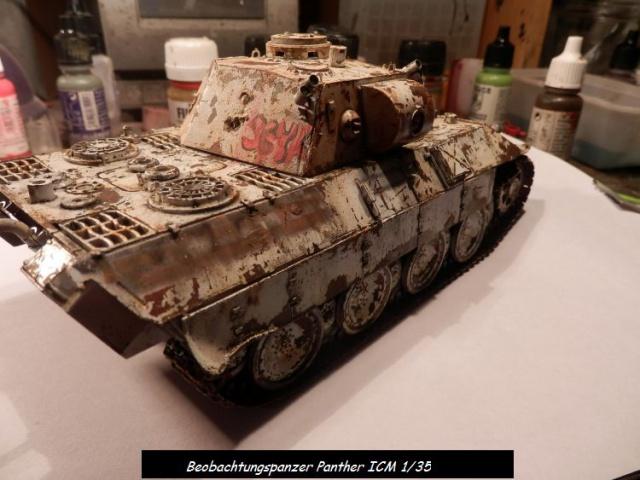 réhabilitation d un Béobachtungspanzer Panther ICM 1/35 817569P4240396
