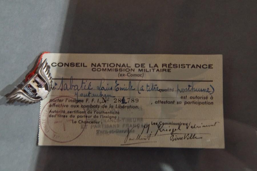 [ Histoire et histoires ] Musée de la résistance et du combattant à Montauban 818475DSC07568