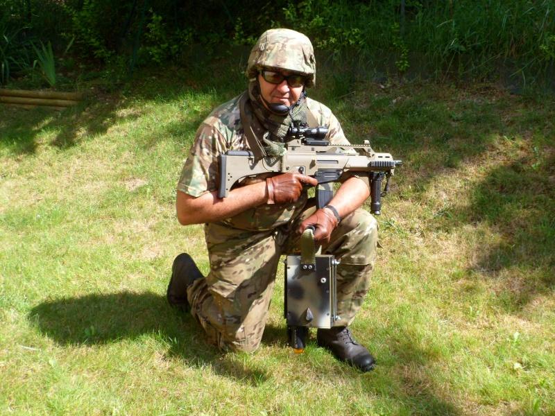 P.A.P. - DIF (Piège Anti Personnel - Détection Infra Rouge) CLAYMORE à la FRENCH TOUCH 818979452b