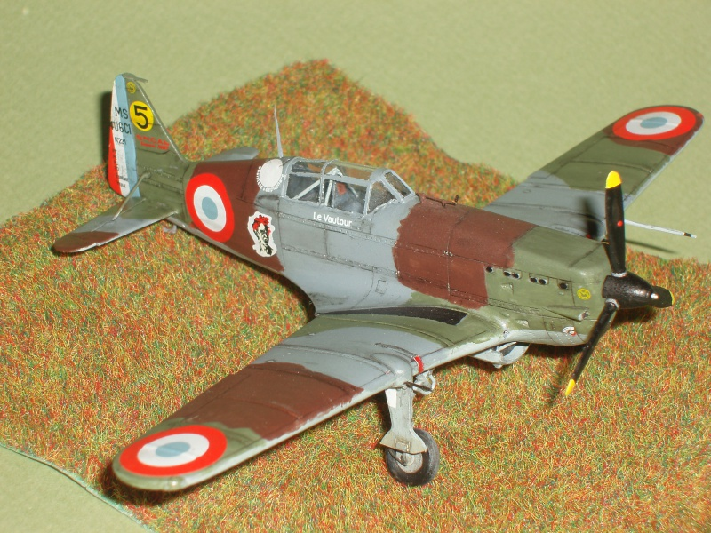 [AZUR] Morane Saulnier MS 406 au 1/72. 819128P1010472