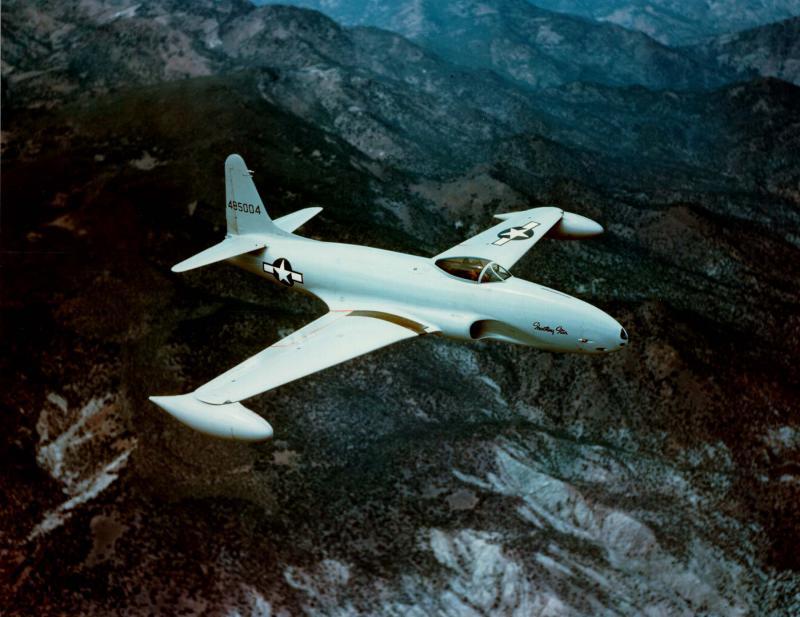 GRUMMAN F9F PANTHER  819702Lockeed_P80_Shooting_Star