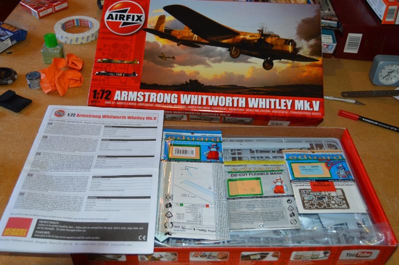 RAF 1939 - Les précurseurs - WHITLEY (AIRFIX - 1/72 - Mk V) 8204120401171B