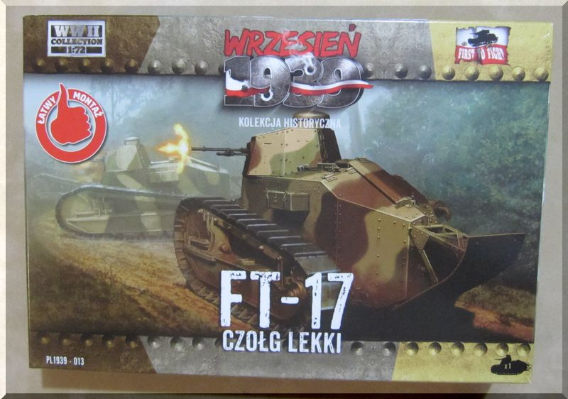 FT-17 - First to fight - 1/72ème - Montage terminé !!! 820877bote
