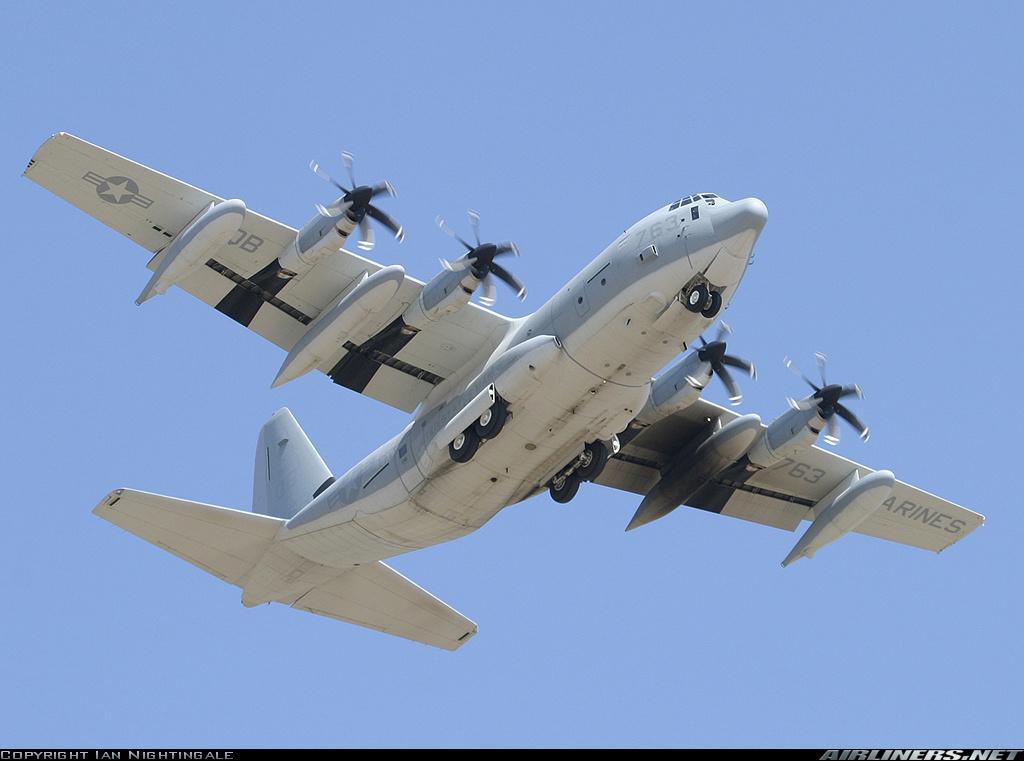 موسوعة طائرة النقل التكتيكي الاحدث C-130J Super Hercules بجميع أنواعها   8215511141561