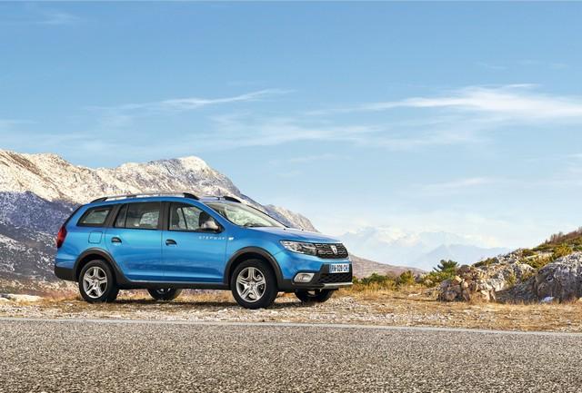 Et de quatre ! La famille Stepway s'agrandit avec Nouvelle Dacia Logan MCV Stepway 8220468730316