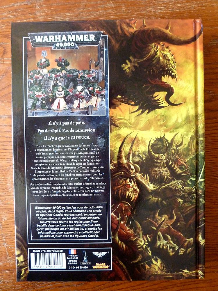Le Livre de Règles de Warhammer 40,000 - V6 (Topic officiel) 823397Livre3