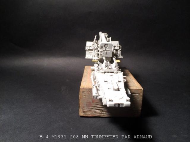 un B-4 M1931 203 mn (le marteau de Staline trumpeter 1/35 824079B4004