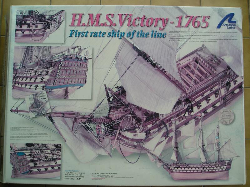 H.M.S. Victory au 1/84°plus rien à voir avec le kit 824178P1050037