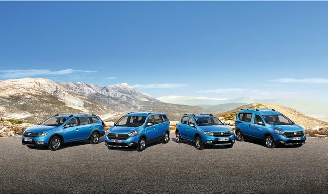 Et de quatre ! La famille Stepway s'agrandit avec Nouvelle Dacia Logan MCV Stepway 8246278733316