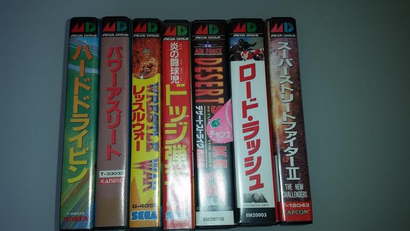 VDS pack MD2 jap ! Lot de 51 jeux Master System + Jeux MD JAP 82632120170903111736