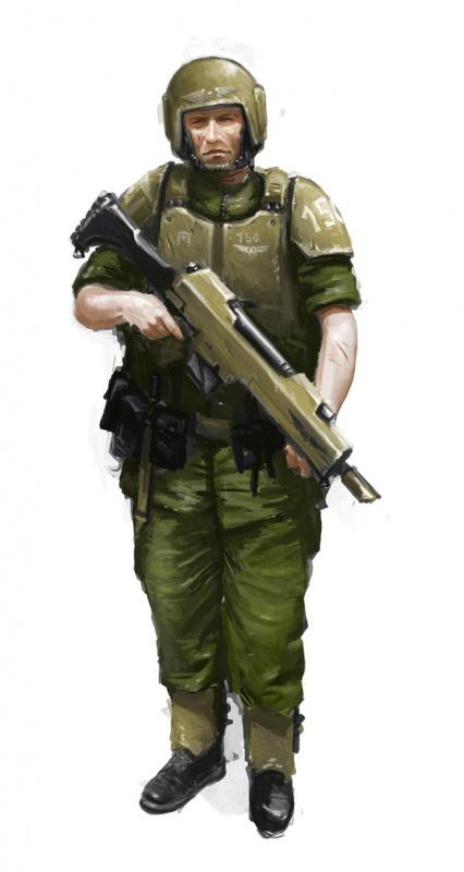 [W40K] Collection d'images : La Garde Impériale 827547trooperofthe51stcadianbymasteralighierid34b5r0