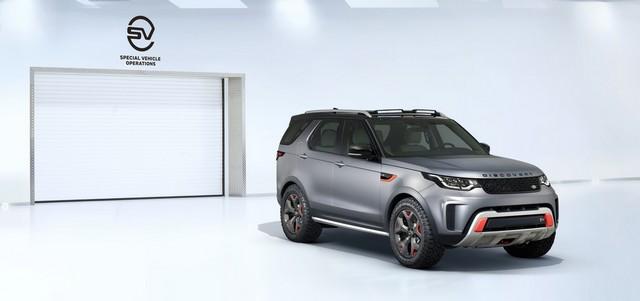 Nouveau Discovery SVX : Land Rover dévoile son champion tout-terrain au Salon de Francfort 827738l46219mysvx002glhd