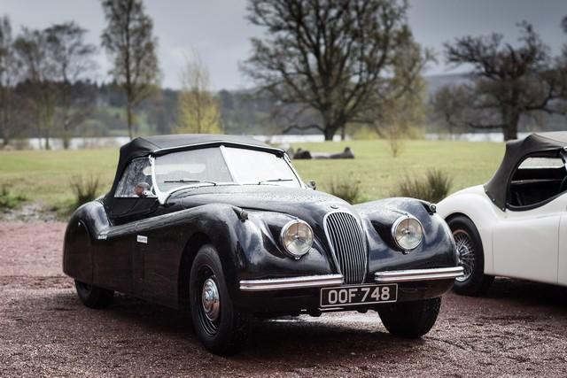Jaguar Heritage Aux Milles Miglia 2015 Avec Des Modeles D'exception 829456JaguarXK120OOF748Image12051509
