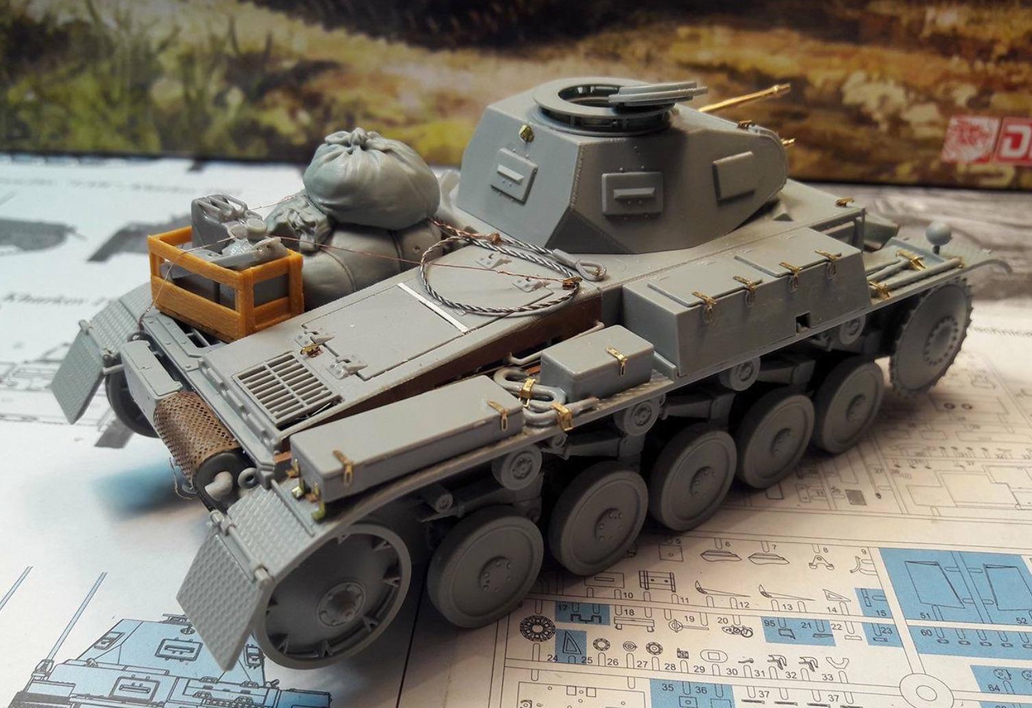 Pz.Kpfw.II Ausf.F - Kharkov 1/35 - Page 3 829582BuildStep4