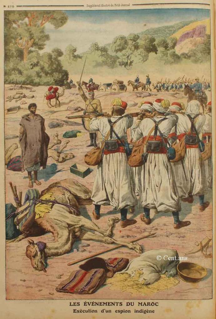 صفحات من تاريخ المغرب الحديث من خلال Le Petit journal illustré 830044pj107128051911b