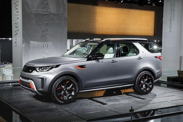 Nouveau Discovery SVX : Land Rover dévoile son champion tout-terrain au Salon de Francfort 830598jlrfrankfurt2017036