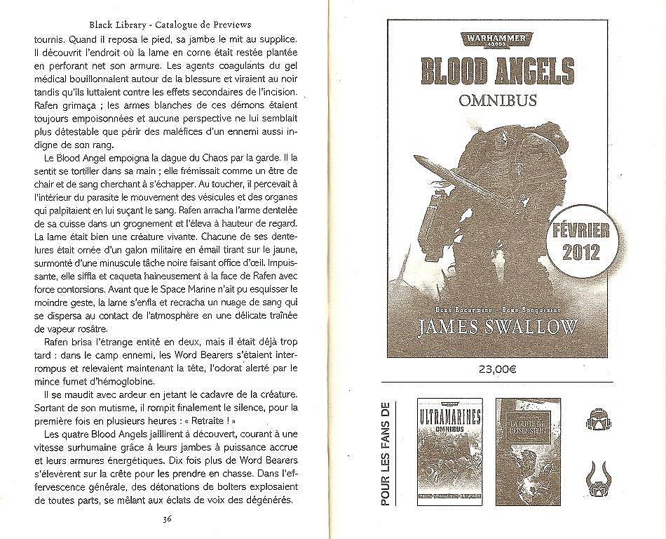 Blood Angels Omnibus de James Swallow 832548angels2