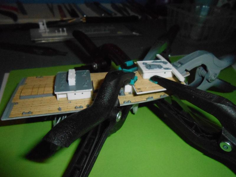 Hikawa Maru hopital 1/350 PE/pont en bois et babioles  - Page 2 834389DSCN5623