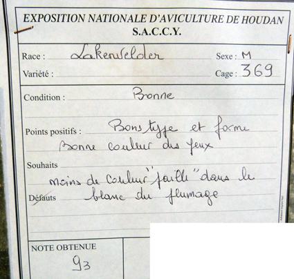 exposition d'aviculture Foire ST MATTHIEU 27 et 28 Septembre 2014 - Page 3 834818P1150837