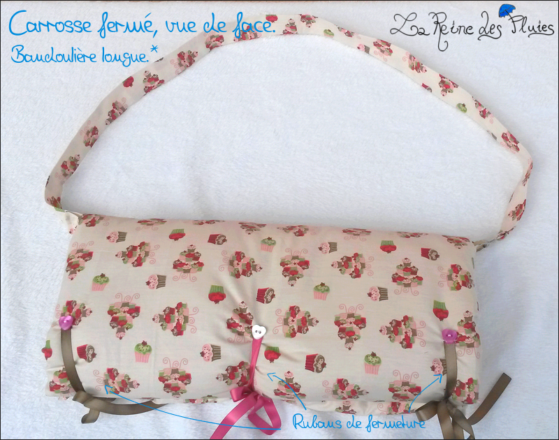 [Sac de transport]La Reine des Pluies:Envie d'1 carrosse?MAJ 835158face