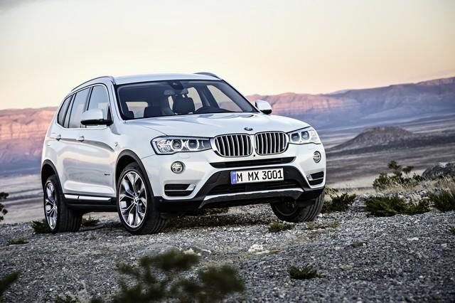 BMW Group établit un nouveau record de ventes au mois d'aout 836333P90142839highResthenewbmwx3with