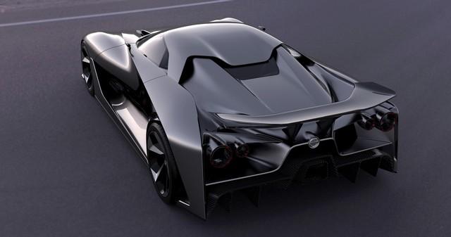 Le Nissan Concept 2020 Vision Gran Turismo Devient Réalité  83827912132315