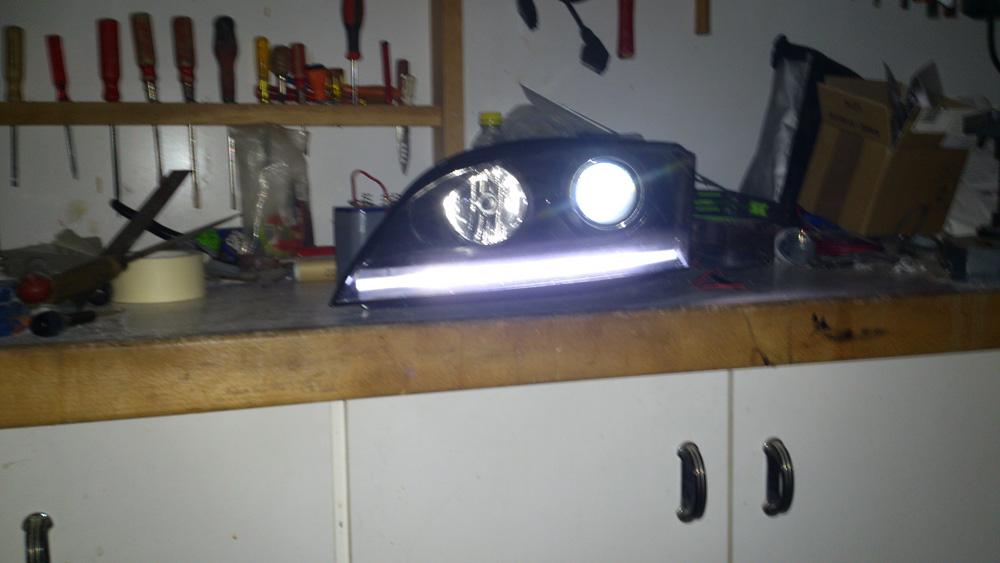 Modification des phares halogènes : HID + Led 839221DSC0609