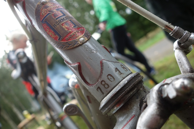 "Vélo ""Hörmann""  à identifier vu à la VELO CLASSICO Germany 2015. Besoin d'aide ! 839566DSC04013"