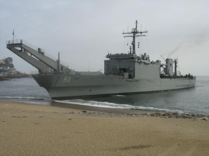 LANDING SHIP TANK (LST) CLASSE NEWPORT  842977LSTValdivia