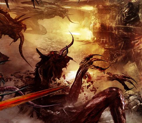 [Space Marine Battles] Legion of the Damned de Rob Sanders 843438legionofthedamnedcrop1