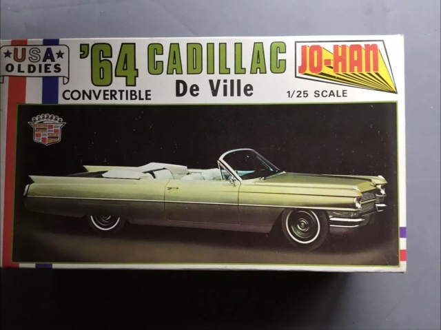 Cadillac '64 convertible d'Antoine Maréchal dans le Corniaud 844152Cadillac64