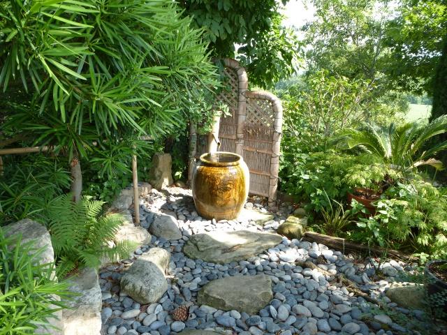 (26) Jardin Zen d'Erik Borja - Beaumont Monteux 845496P1020251