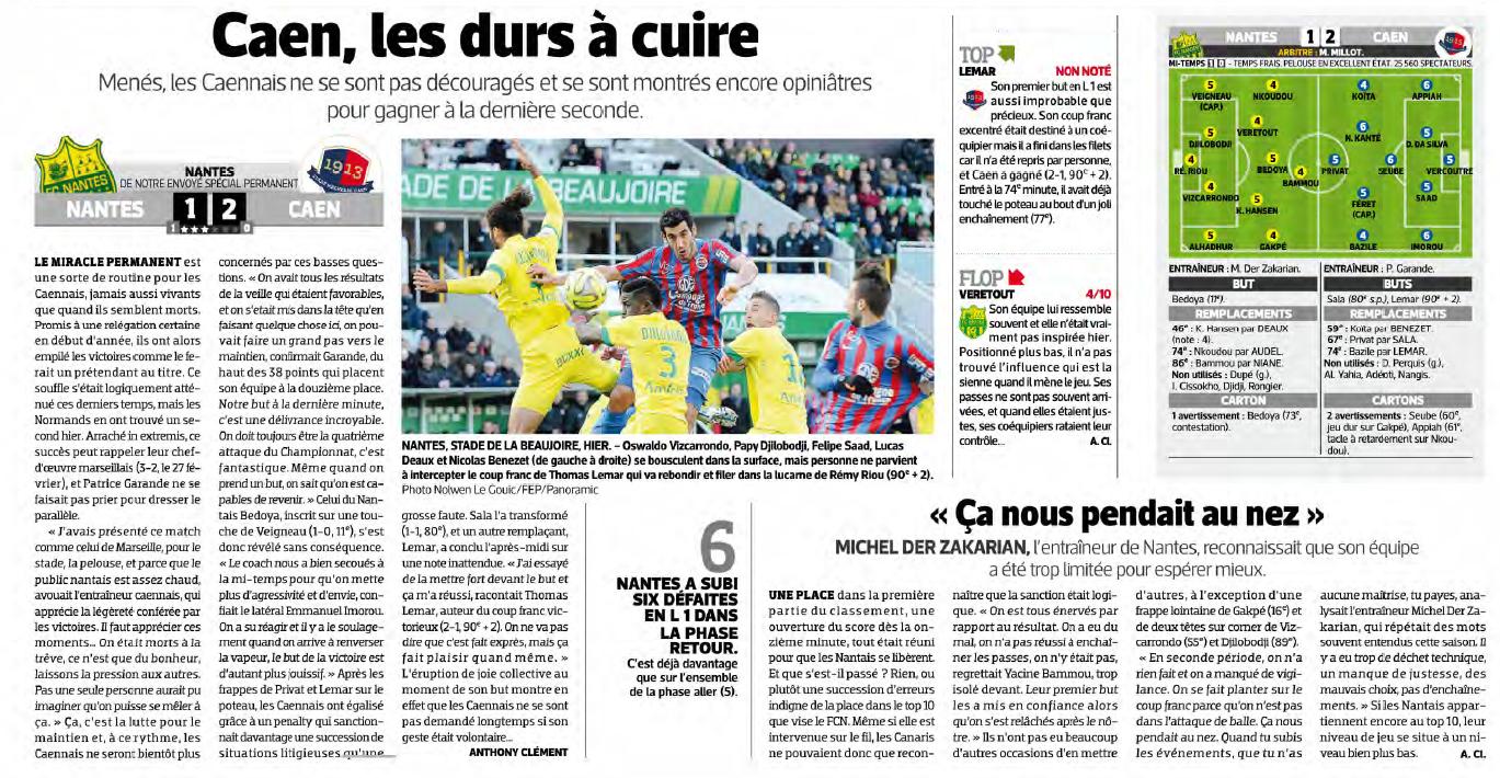 [31e journée de L1] FC Nantes 1-2 SM Caen - Page 2 847169nantes