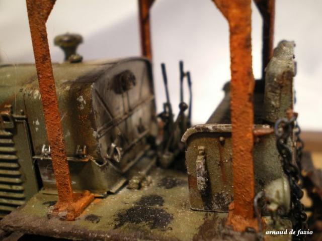 tracteur d artillerie soviétique chtz s-65 version allemande 1/35 trumpeter,tirant 2 blitz de la boue - Page 2 848623IMGP2296